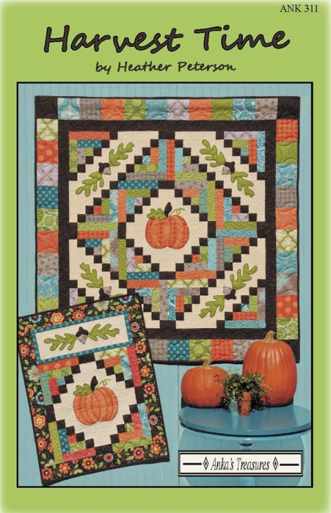 harvest time pattern cover 2