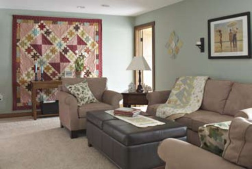 Living Room Quilts pattern of the week | trends and traditions