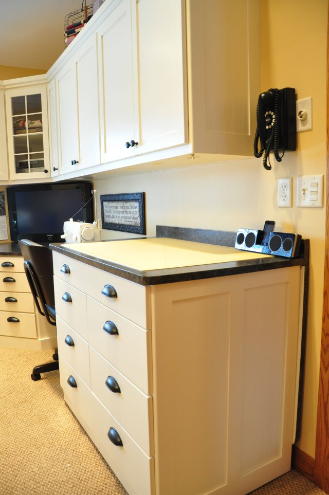 Designing A Sewing Room: Sewing Room Cabinet Ideas