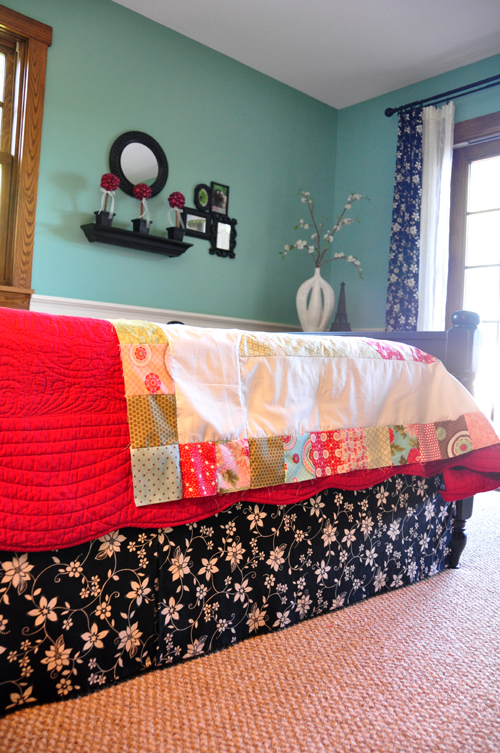 Bed Skirt Tutorial Trends And Traditions