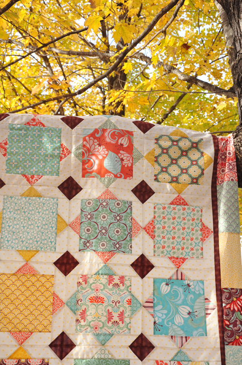 Quilt Patterns Using Large Scale Prints : Fall-O-Ween Winners Trends and Traditions
