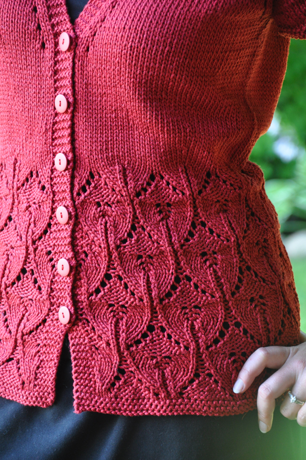 Lace Knitting Patterns For Sweaters : A knitting fool trends and traditions
