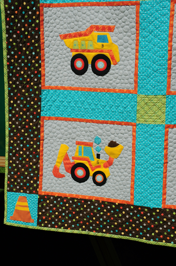 Birthday Party Quilts | Trends and Traditions : construction quilt - Adamdwight.com