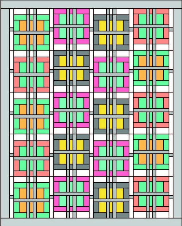 mod plaid size option 4 x 4